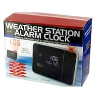 Weather Station Digital Alarm Clock - Pack of 2