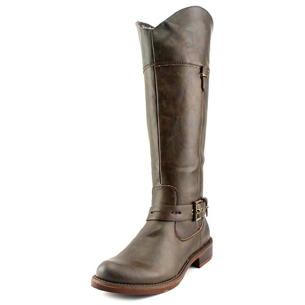 Kensie Stefanie Round Toe Synthetic Knee High Boot