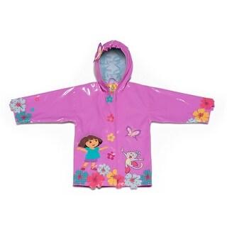 Kidorable Girls 2-6X Dora Coats - Purple - 4T