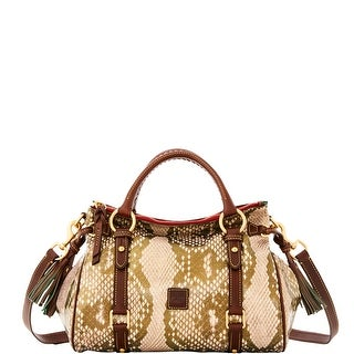 Dooney & Bourke City Python Small Satchel (Introduced by Dooney & Bourke at $428 in Sep 2016) - Gold