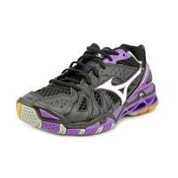 Mizuno Wave Tornado 9 Women  Round Toe Synthetic Black Running Shoe