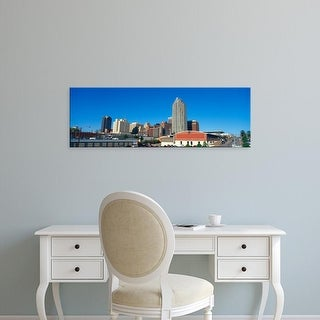 Easy Art Prints Panoramic Images's 'Panoramic view of Memphis Tennessee skyline' Premium Canvas Art