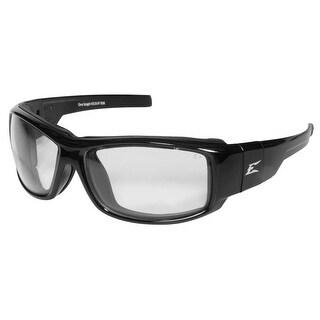 Edge Eyeware HZ111-SP Caraz Safety Glasses, Black Frame