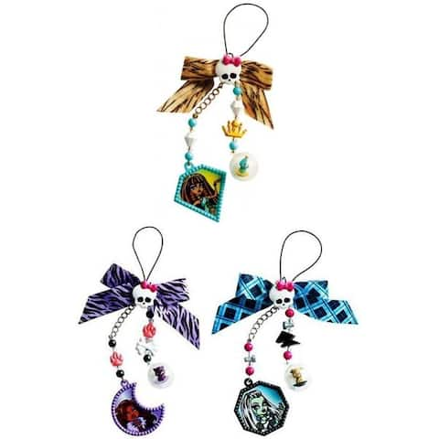 Monster High Creeperific Charms Assorted Case Of 8 - Multi