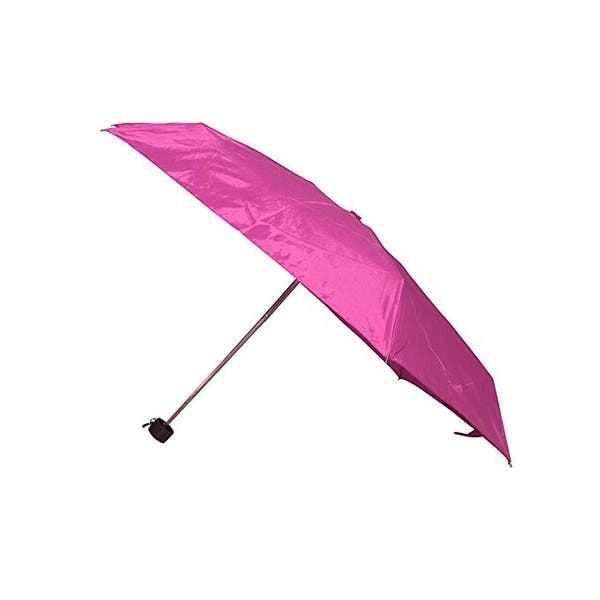 7a8e423ee Shop Raines by Totes Micro Mini Pink Umbrella with Medium Coverage ...