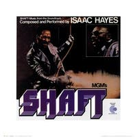 ''Shaft'' by Anon Movie & TV Posters Art Print (16 x 16 in.)