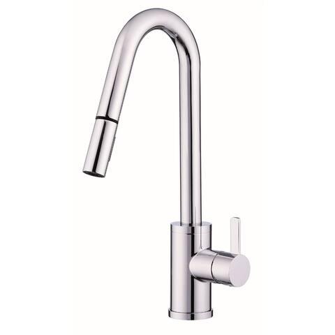 Danze D457230 Amalfi 1.75 GPM Single Hole Pull Down Kitchen Faucet