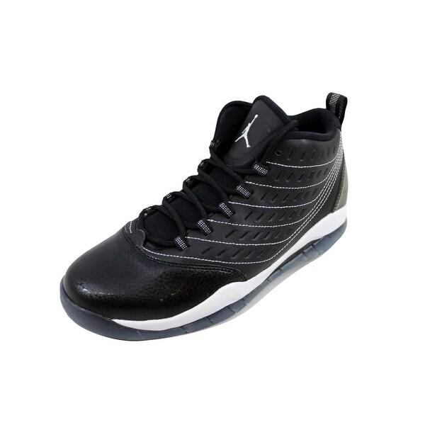 size 40 674d8 10ff7 Nike Grade-School Air Jordan Velocity BG Black White-White 693361-010