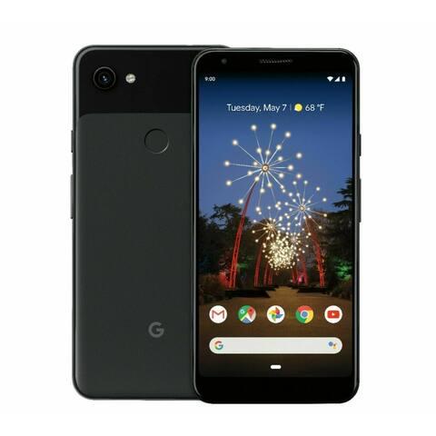 Google Pixel 3A XL 64GB Refurbished Black Unlocked Smartphone