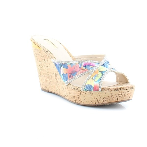 Guess Eleonora Women's Sandals & Flip Flops Blue Multi