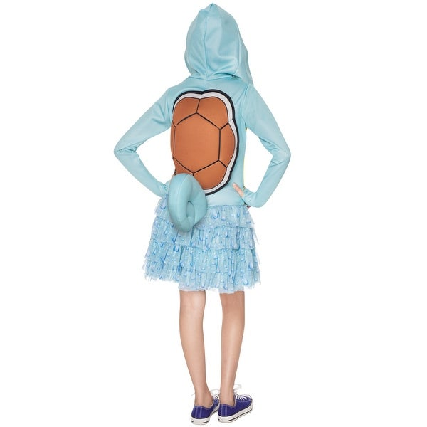 Squirtle Hoodie Dress Pokemon Child Costume