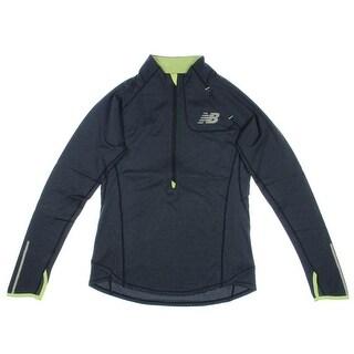 New Balance Womens Dynamic Cooling 1/2 Zip Athletic Jacket
