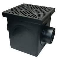 NDS 900BKIT Basin Kit With Grate, Black, Polyethylene
