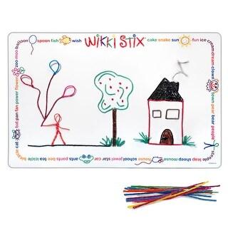 Wikki Stix Laminated Play Mat 14X22