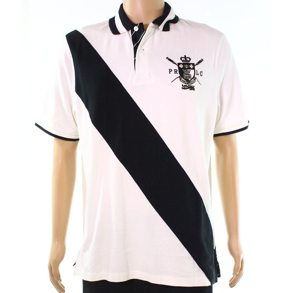 7fe64dd5 Shop Polo Ralph Lauren White Mens Medium M Classic Embroider Polo Shirt - Free  Shipping Today - Overstock - 28057280
