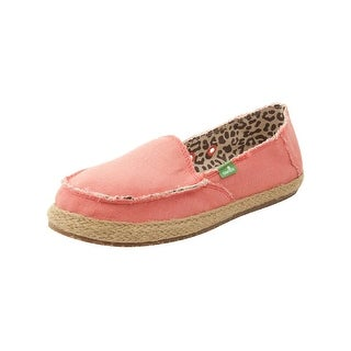 Sanuk Womens Fiona Flats in Coral - 9