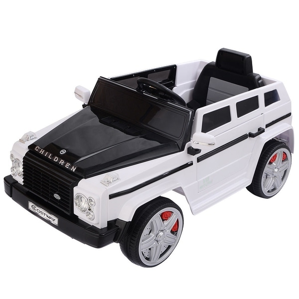 Shop Costway 12v Mp3 Kids Ride On Car Battery Rc Remote