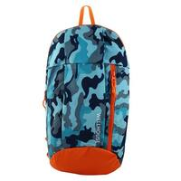 Unique Bargains Wellhouse Authorized Outdoor Backpack Mountaineering Bag Camouflage Blue 20L