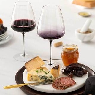 Link to JoyJolt Black Swan Red Wine Glasses, 26.8 Oz Set of 2 Similar Items in Glasses & Barware