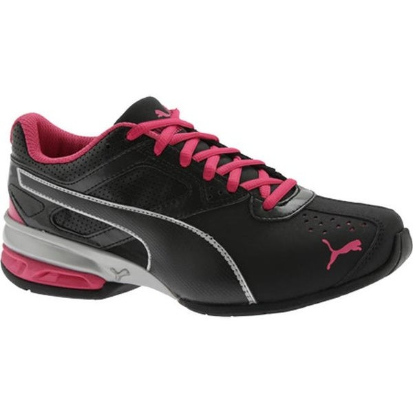 4ae2217c97b PUMA Women  x27 s Tazon 6 Puma Black Puma Silver Beetroot Purple. Click to  Zoom