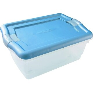 Rubbermaid RMCC060003 Non-Latching Storage Container, 6-1/4 Quart
