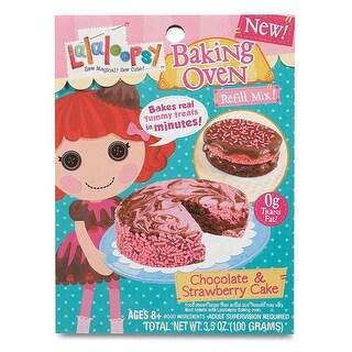 Lalaloopsy Baking Oven Mix- Chocolate & Strawberry Cake - 3.42 oz