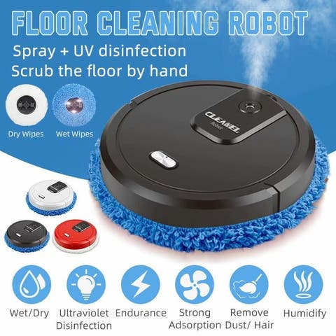 Automatic Intelligent Cleaning Robot Smart Sweeping Robot Vacuum Floor 2 in 1 Smart Vacuum Cleaner For Home Cleaning
