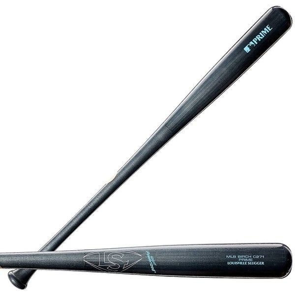 Louisville Slugger 2019 MLB Prime Birch C271 Blue Steel Baseball Bat, 32/29 oz.