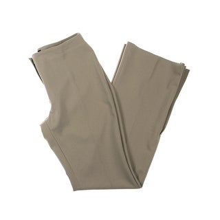 MNG Womens Dress Pants Pleated Bottom Flat Front - 10