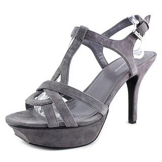 BCBGeneration Preize-X Women Open Toe Synthetic Platform Sandal