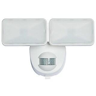 Heathco HZ-7161-WH Battery Powered Security Light, 180 deg Sensing, White