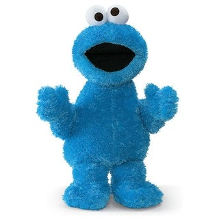 "34"" Sesame Street Soft and Silky Cookie Monster Doll Children's Stuffed Animal Toy - Blue"