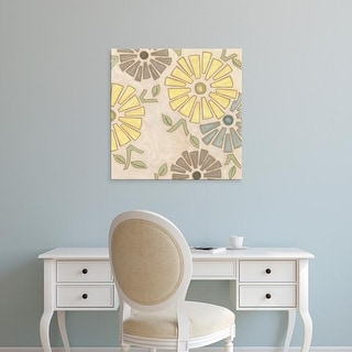 Easy Art Prints Karen Deans's 'Pastel Pinwheels I' Premium Canvas Art