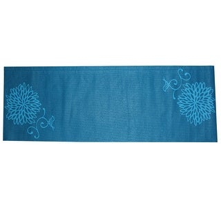 Gym Fitness Training Yoga Pilates Exercise Pad Mat Cushion Blue 3mm Thickness