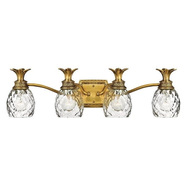 "Hinkley Lighting H5314 4 Light 29"" Width Bathroom Vanity Light from the Plantation Collection"