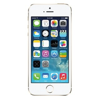 Apple iPhone 5s 16GB Unlocked GSM 4G LTE Dual-Core Phone w/ 8MP Camera (Refurbished)