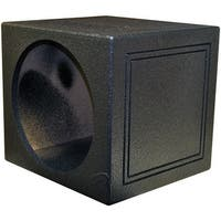 "Qpower Single 15"" Sealed Woofer Enclosure withh Bed Liner Spray"