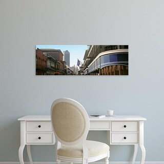 Easy Art Prints Panoramic Images's 'Four Points, Bourbon Street, French Quarter, New Orleans, Louisiana' Canvas Art