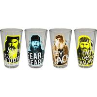 Duck Dynasty Pint Glass Set of 4