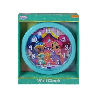 Shimmer & Shine Wall Clock