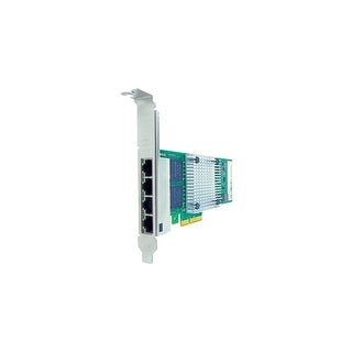 Axiom PCIe 1Gbs Quad Port Copper Network Adapter for Dell Quad Port Fiber Network Adapter