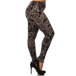 Baroque Me Design Plus Size Leggings