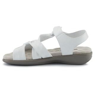 Walking Cradles Womens Sensational Open Toe Casual Strappy Sandals - 10