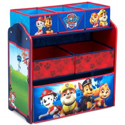 Nick Jr. PAW Patrol 6 Bin Design and Store Toy Organizer by Delta Children