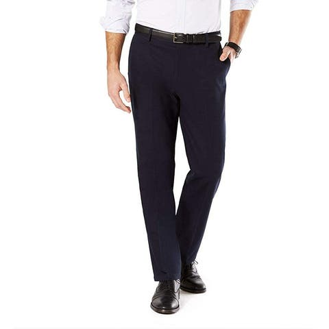 Dockers Mens Pants Blue Size 50X30 Big & Tall Classic Khakis Stretch
