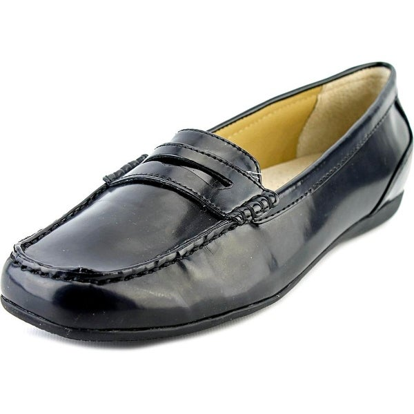 Trotters Francie Black Loafers