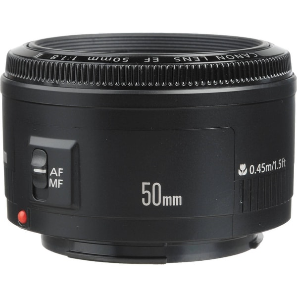 Canon EF 50mm f/1.8 II Lens (International Model)