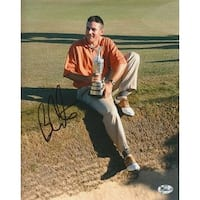 Ben Curtis signed 8x10 Photo