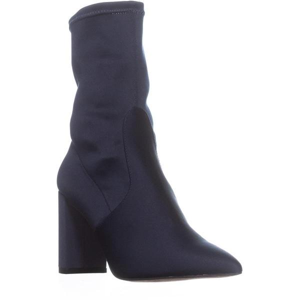 2a9b31a73b20 Shop I35 Savina Pointed-Toe Ankle Boots, Storm Blue - 6 us - Free ...