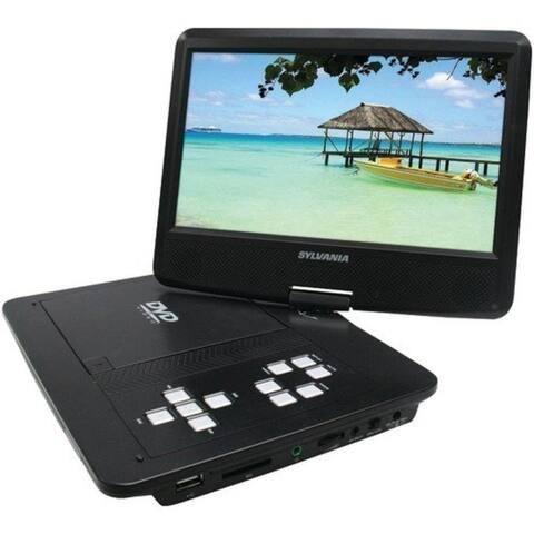"""Sylvania Cursdvd1030 Sylvania 10 """" Swivel-Screen Portable Dvd Player"""